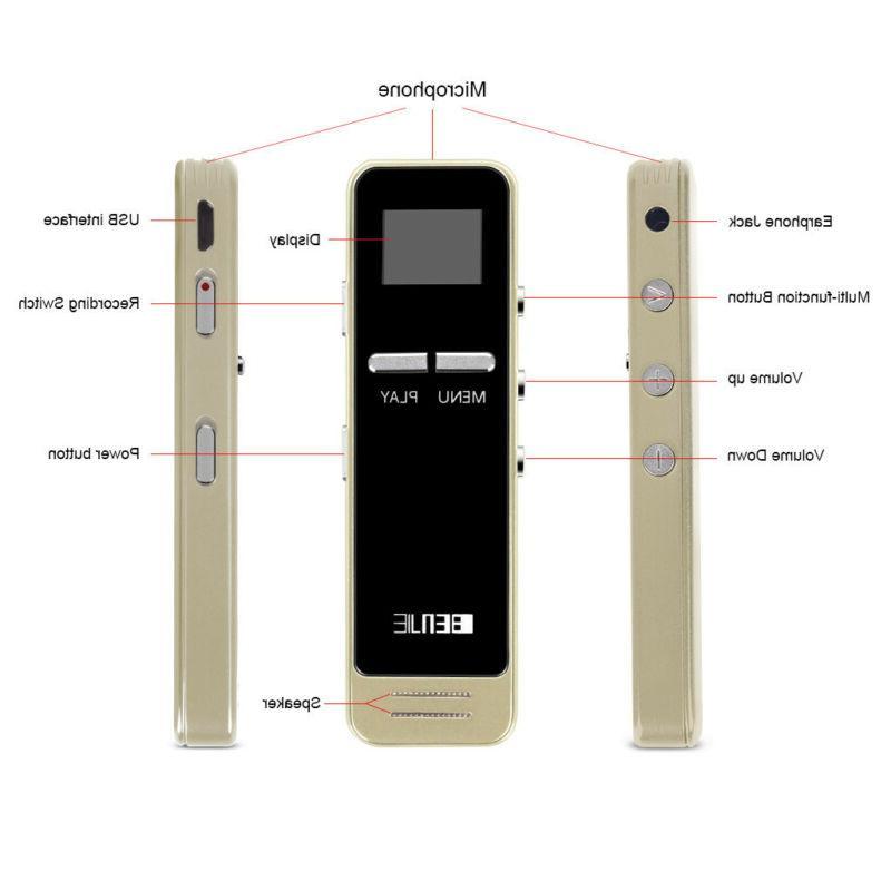 Mini Chutty 3D Voice Recorder HIFI