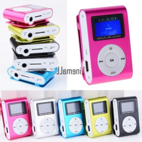 mini clip metal mp3 music media player