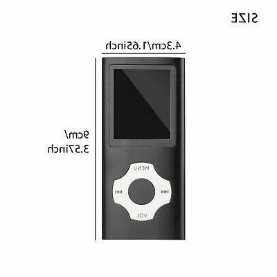 Mini MP3 Player Media FM Radio Lossless Up 64GB
