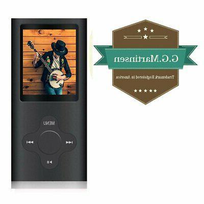 MP3 & MP4 G.G.Martinsen Versatile With Micro SD Card,