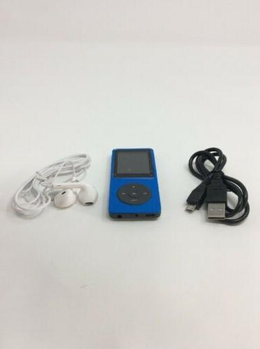 FecPecu Mp3 & Multimedia Player 8gb  - By19