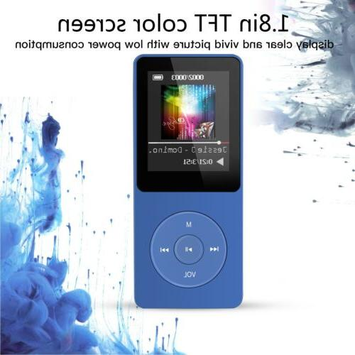 AGPTEK MP3 Music Player 8GB Dark