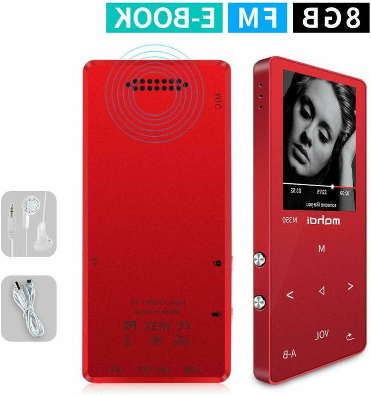 Mymahdi Mp3/Mp4 Music Player,8Gb Portable Audio Player W