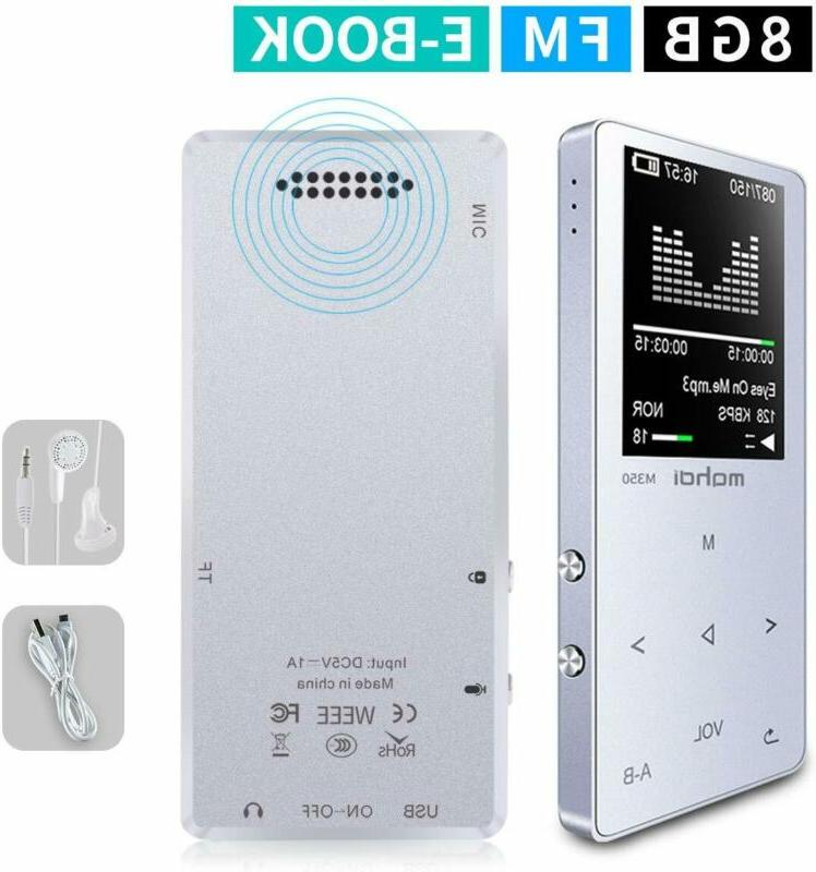 MYMAHDI MP3/MP4 Music Player, 8GB Portable Audio Player with
