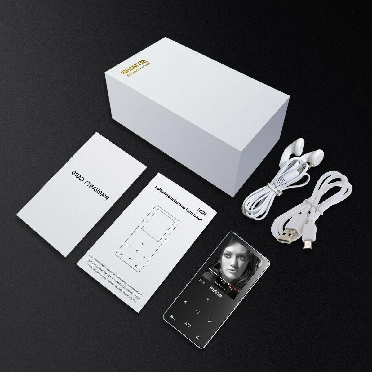 MYMAHDI MP3/MP4 Music 8GB Body, Up to