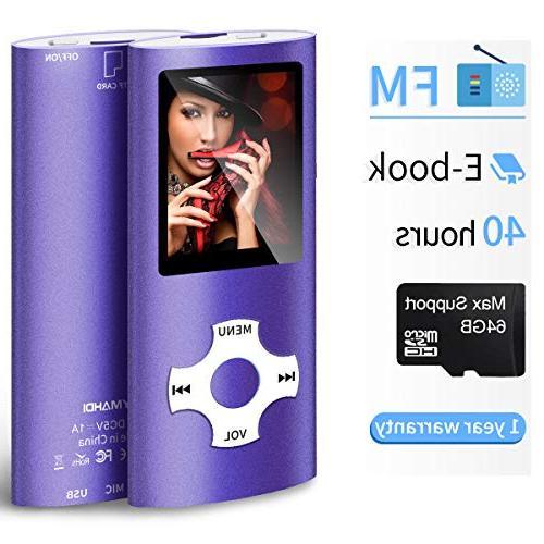 mp3 mp4 portable player