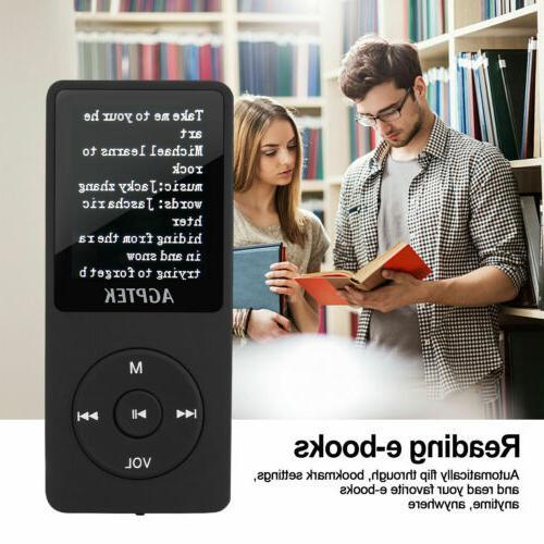Agptek MP3 FM Radio Lossless Sound Recorder 8GB 70 Hours