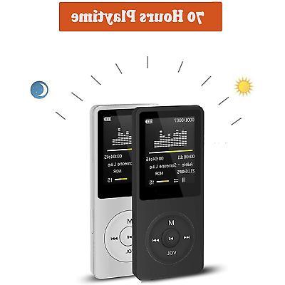 Agptek Music FM Recorder Playback Hours
