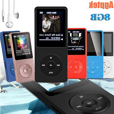 Agptek MP3 Music Player FM Radio Lossless Sound