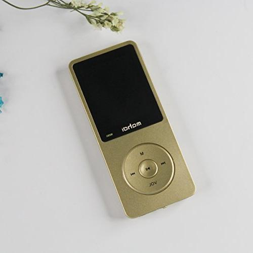 MYMAHDI Portable MP4 Player MP3 Player Player Support Card Photo E-Book
