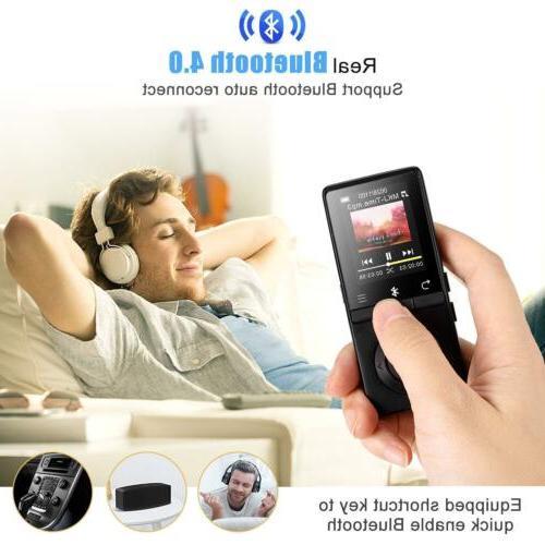 AGPTEK MP3 16GB Music FM Voice Recorder