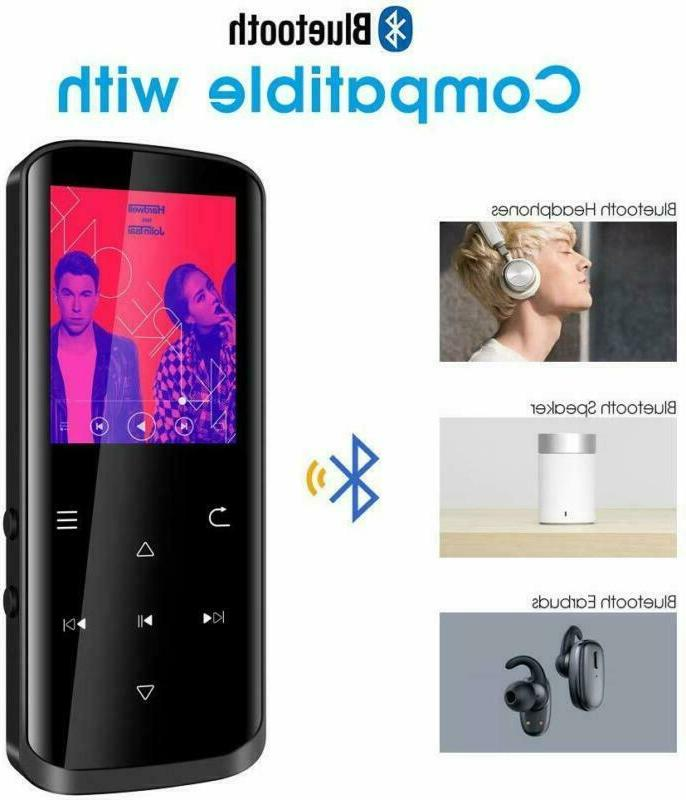 Mp3 Player,16GB with Bluetooth,Built-in Lossles