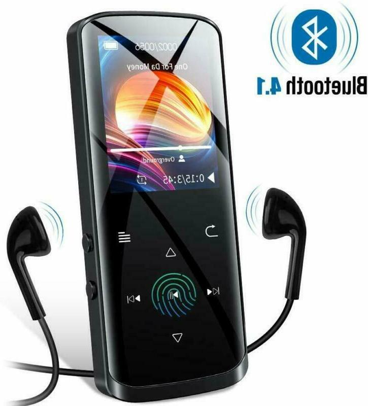 mp3 player 16gb mp3 player with bluetooth