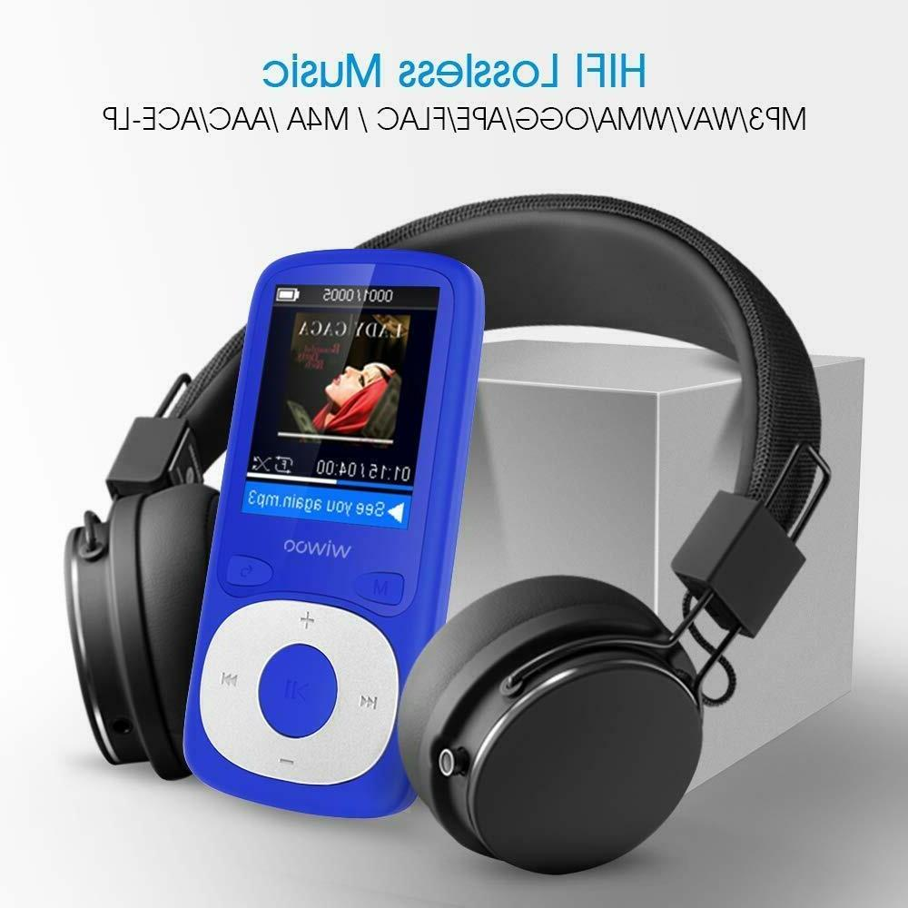 MP3 Player,16GB with Radio Recorder Lossless Sound MP