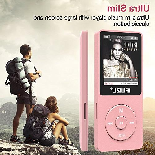 Mp3 Ultra Music Player with Recorder, Play, Reading, 80 Playback and 128 GB