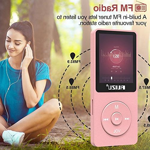 Mp3 Player, Ultra Slim with Radio, Recorder, Reading, Playback and 128