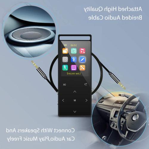 Grtdhx 32GB MP3 Hi-Fi FM