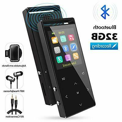 mp3 player 32gb mp3 players with bluetooth