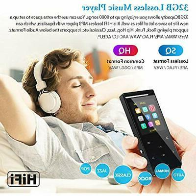 MP3 Player,32GB Lossless Music Audio