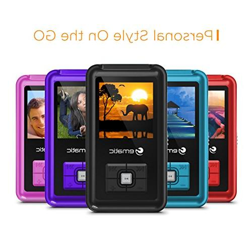 1.5-Inch 8GB MP3 Player Blue