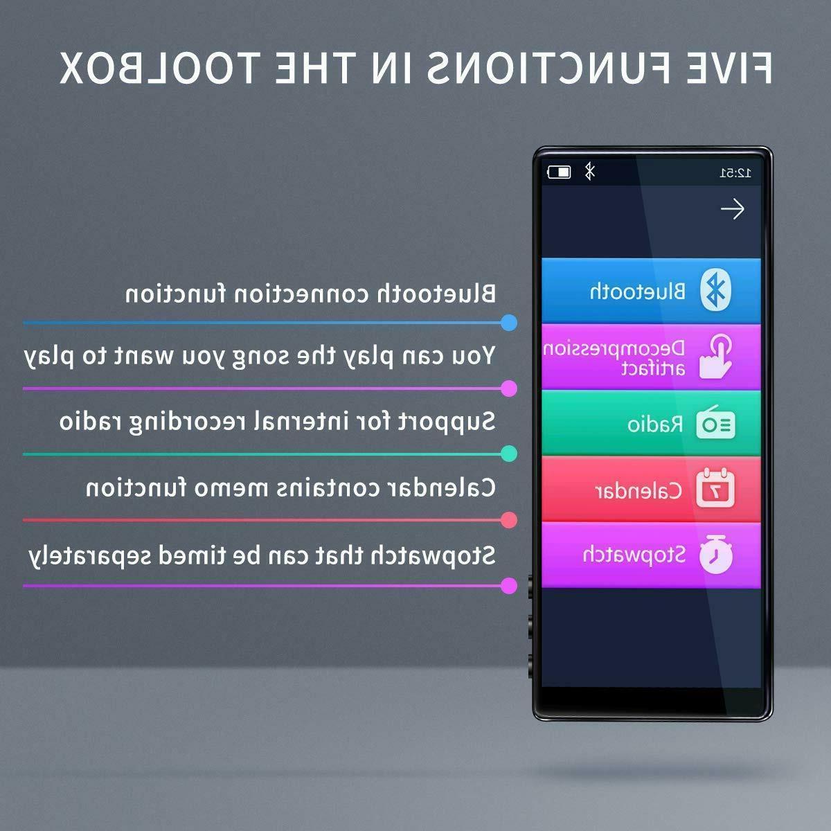 MYMAHDI MP3 Full Touch 5.0 FM Speaker