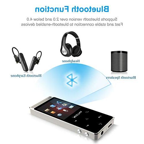 4.0, Buttons 1.8inch 8GB Portable Lossless Audio with