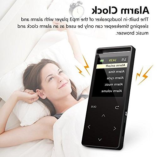 MP3 Player ,16GB FM Radio/ Recorder,HIFI Lossless HD Quality , newest with an