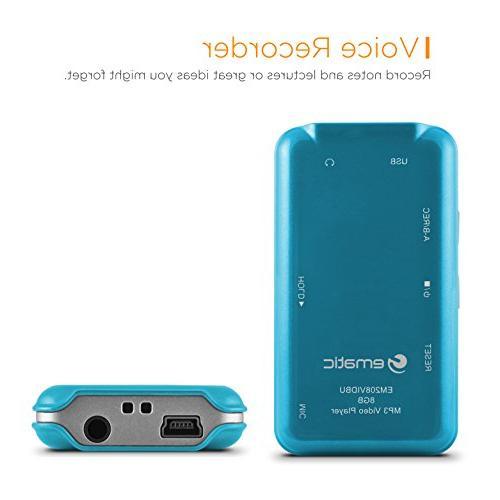 1.5-Inch 8GB Player Blue