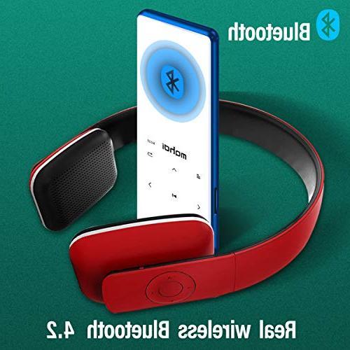 MYMAHDI MP3 16GB Audio Radio, Voice Recorder, Support up to 128GB,