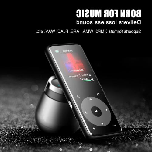 AGPTEK Player 16GB FM Music Player up to