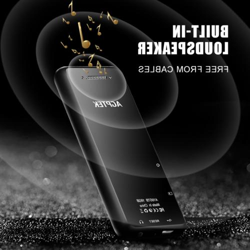 AGPTEK MP3 16GB Music Player Support up to