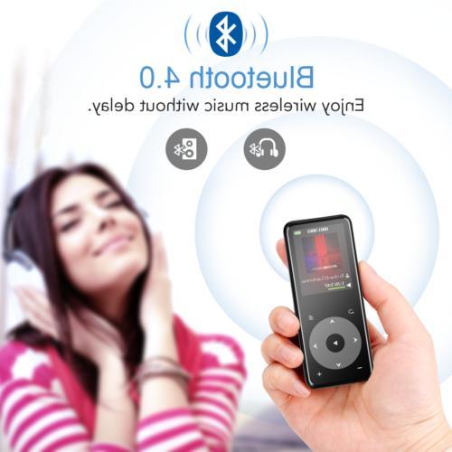 AGPTEK Player 16GB FM Radio to