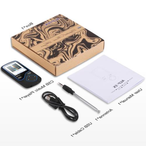 AGPTEK Bluetooth 16GB Portable Voice Support
