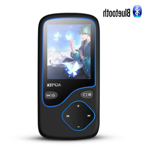 mp3 player bluetooth 16gb portable fm radio
