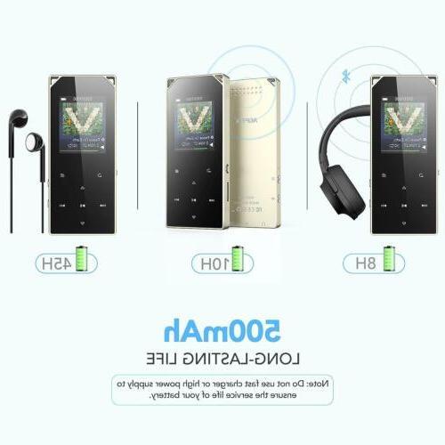 AGPTEK MP3 FM Radio Touch Player