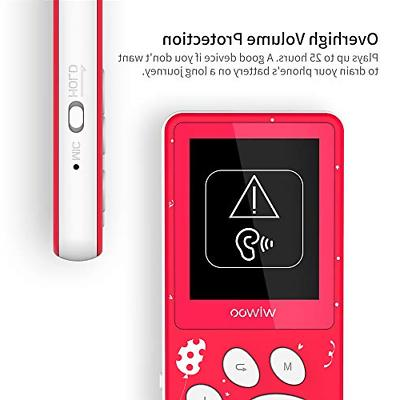 Wiwoo Kids,Portable Player with FM Radio Voice Up