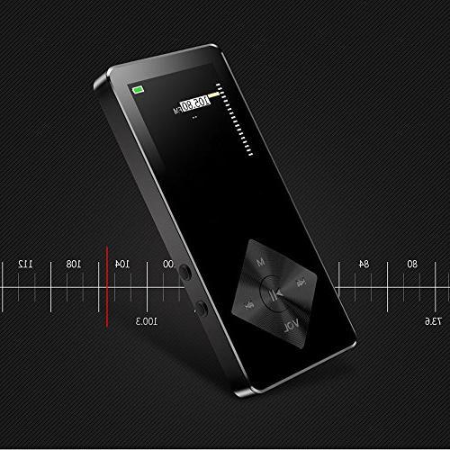 MP3 Player/MP4 MP3 Player 16GB Slim Classic Digital LCD 1.82'' Screen with Radio,
