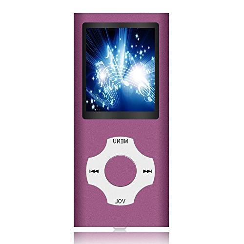 MP3 Player Player, Hliwoynes Player SD card Digital MINI USB Port with FM Radio, record