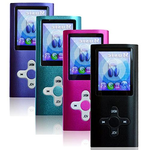 Lonve MP3 Music FM Radio MP3 WMA Perfect for Sports Black