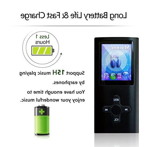 Lonve MP3 MP4 Player Music Radio Voice for Kids