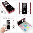 MP3 Player Portable Digital Bluetooth Metal 25 Hour Playback