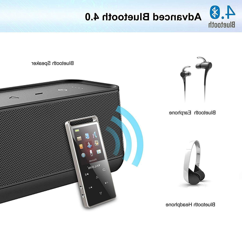 MP3 Player Portable Bluetooth Metal Playback