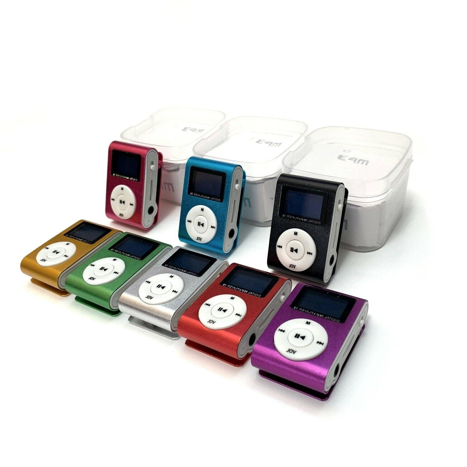 mp3 player with 9 lcd screen display
