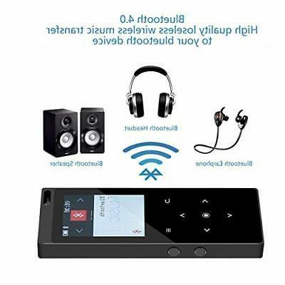 HONGYU Bluetooth4.0,16G Portable Sound MP3
