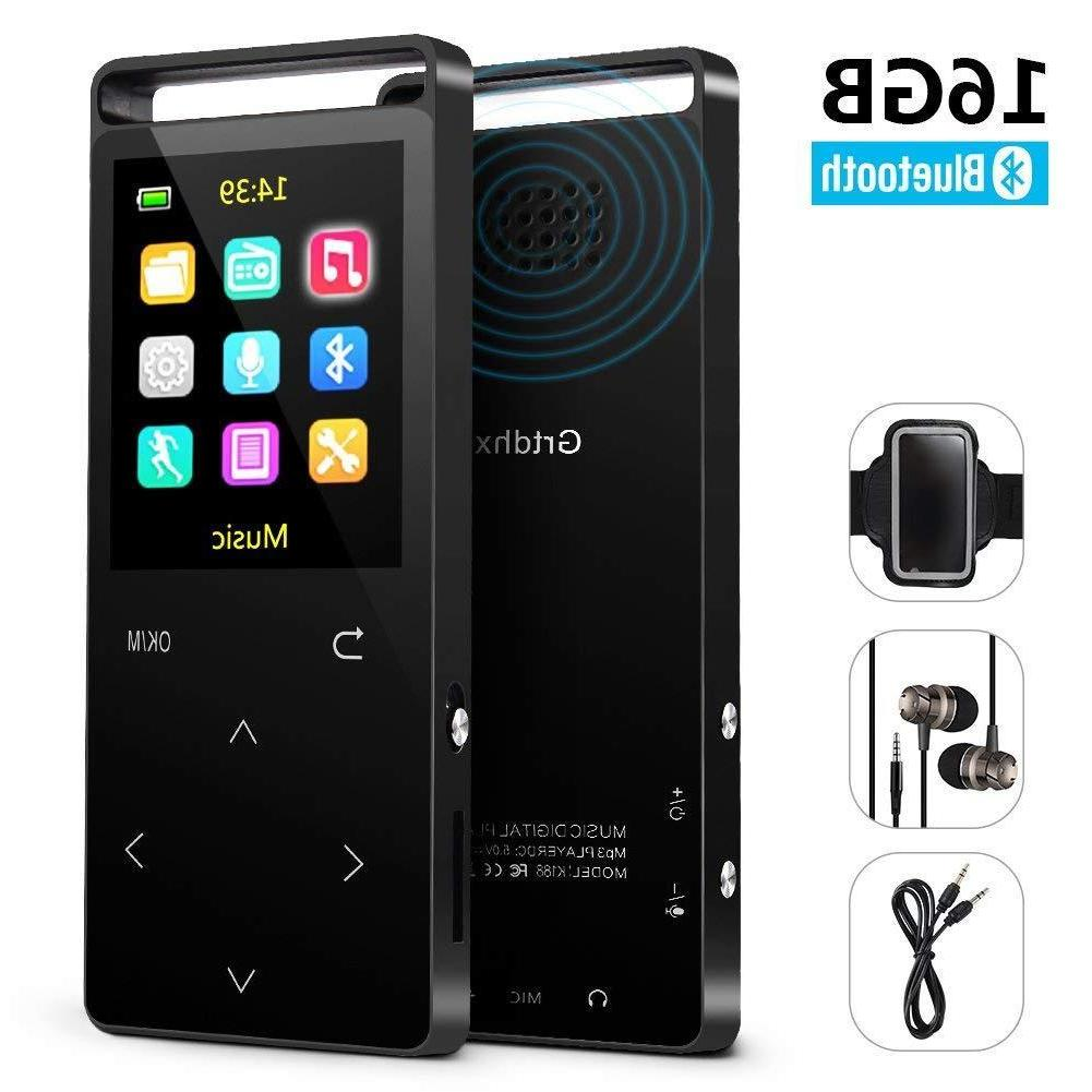 MP3 Music player with FM Radio/Voice Lo