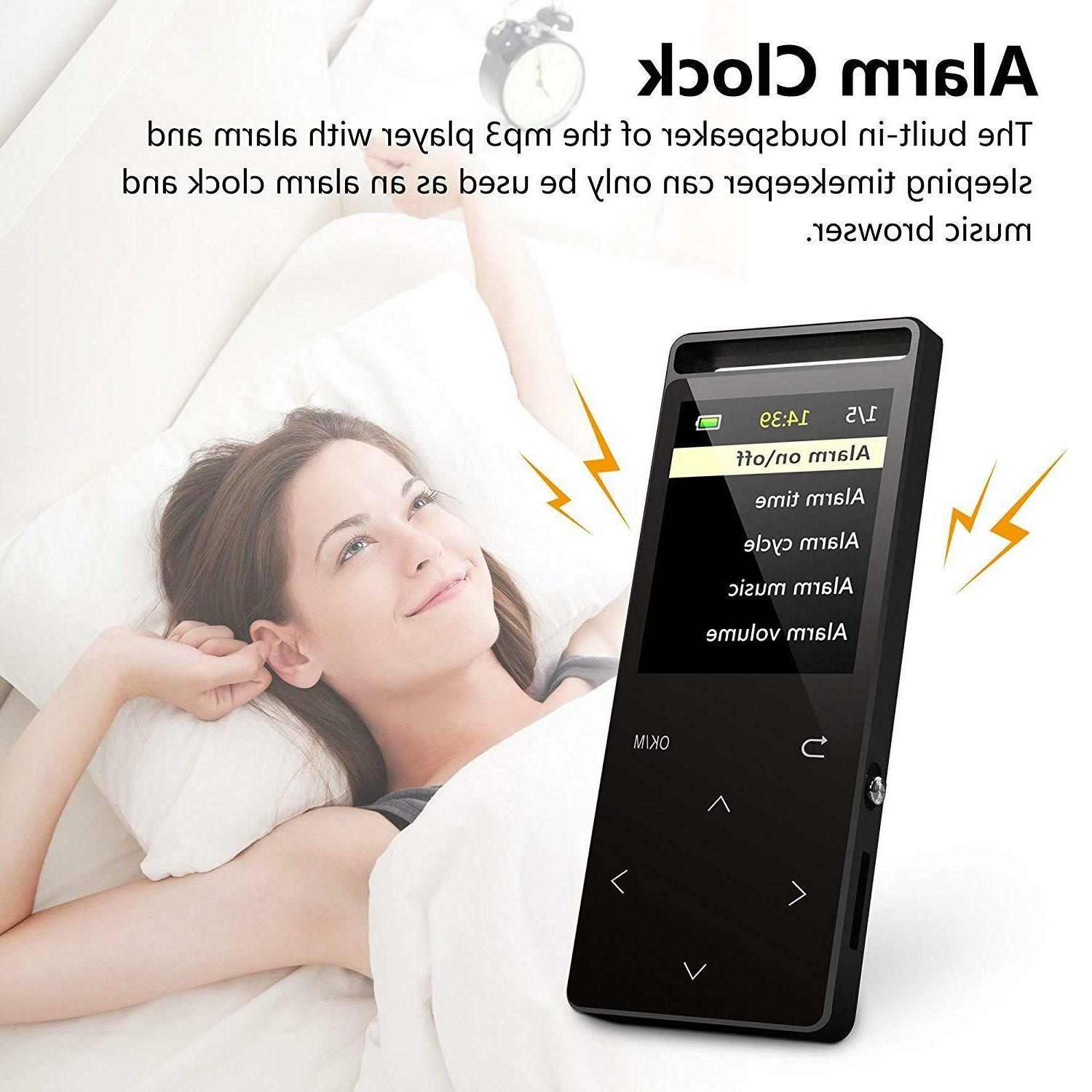mp3 player with bluetooth 16gb music player