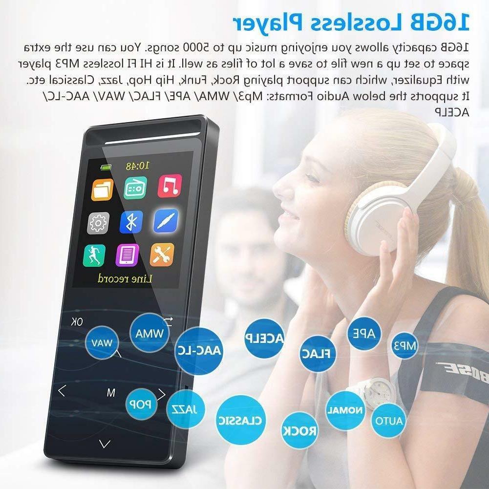 Grtdhx MP3 Bluetooth, Digital Music Player Rad