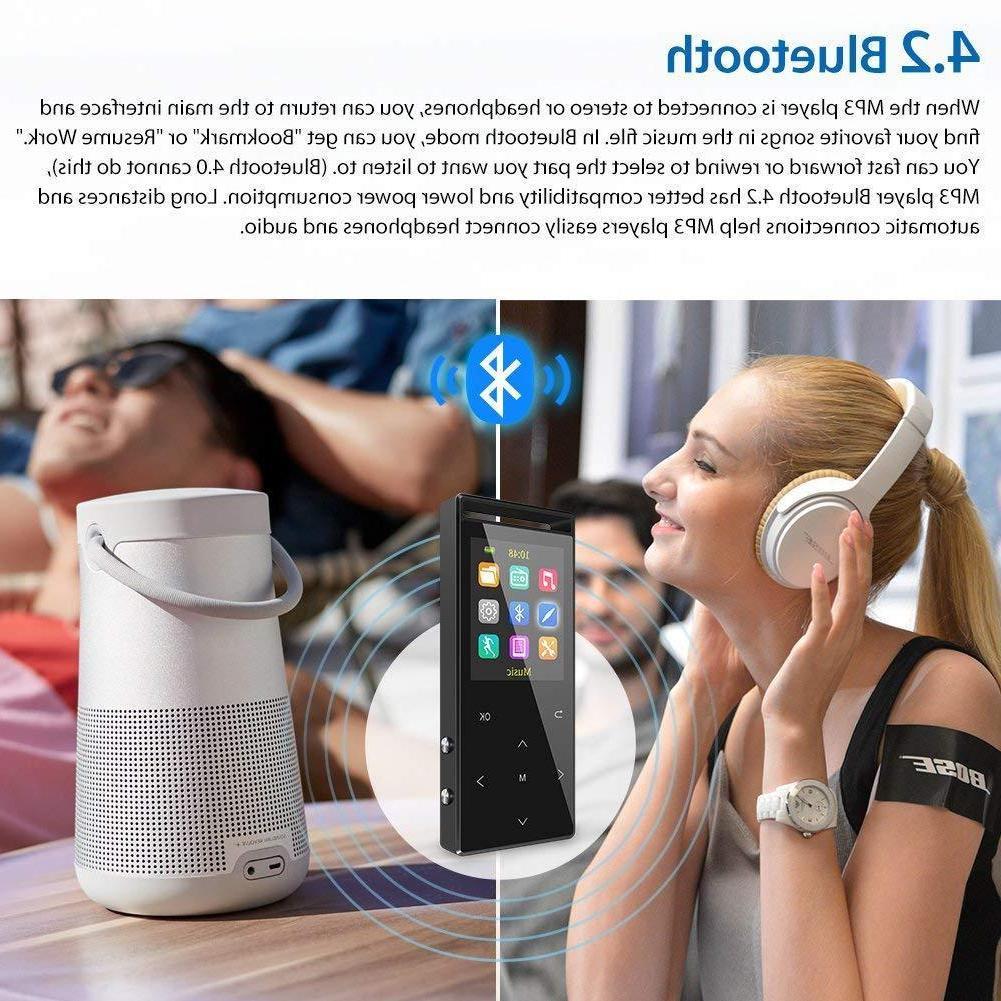 Grtdhx Bluetooth, Portable Digital Music Player Rad