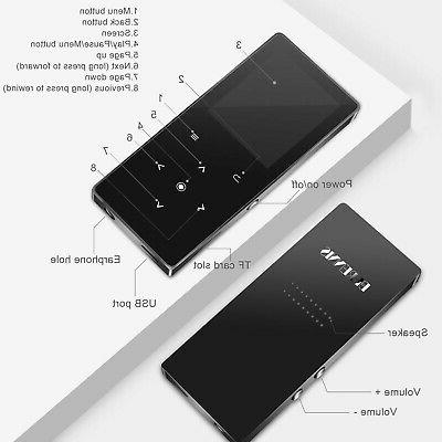 MP3 Bluetooth, BERENNIS 16GB Portable Sound Music