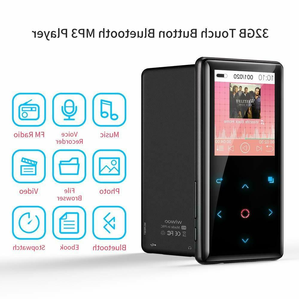 MP3 Player with Wiwoo 32GB MP3 Music